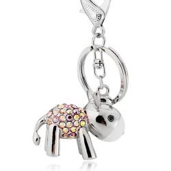 韩国饰品批发货源直销2017年最流行时尚饰品可爱闪钻小驴钥匙扣-爱的供养2591-2-62