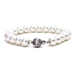 韩版时尚 白珍珠手链 送朋友女友生日礼物2086