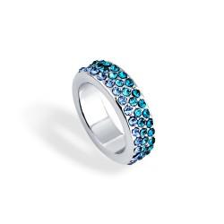 时尚满钻混彩戒指 4色任选 简单绚丽 男女通用 4月淘宝热卖 4317