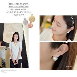 韩国官网进口高档耳饰预订款 HG003-60