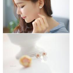 韩国官网进口高档耳饰现货款HG016-75