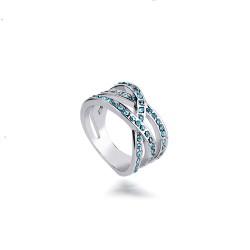 时尚精美微镶水钻戒指戒圈指环现货饰品批发 速卖通爆款 欧美风货源3140