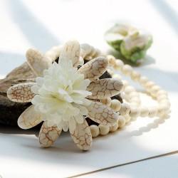 南丁格尔 高端手饰品牌  太阳花  速卖通批发 厂家直销 珠子手链 N281