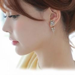韩国官网进口高档耳饰现货款HG005-120