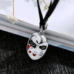 2017年流行饰品 中国风创意脸谱包扣钥匙扣手机扣挂件 个性搭配双用 1861