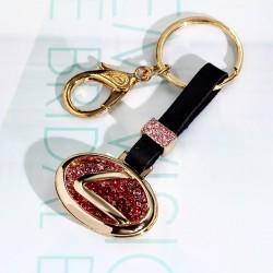 创意名牌标识汽车钥匙扣 包包扣 装逼利器 百搭配件 1965