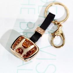 创意名牌标识汽车钥匙扣 包包扣 装逼利器 百搭配件 1966