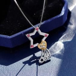 次元姬 动漫周边项链你的名字流星项链 四叶的下一次相遇 D058-56