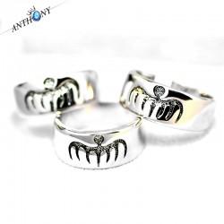 安东尼品牌外贸首饰 欧美时尚007邦德幽灵党SPECTRE图纹戒指 A39-25