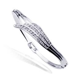 欧美新款首饰批发 个性时尚满钻天使翅膀手镯 简约气质水晶手饰品 5606-69