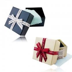 淘宝商城专用特别定做高档时尚精致饰品盒礼品盒-双层海绵加强保护+擦银布+干燥剂 6044-12