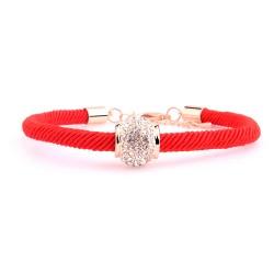 时尚百搭本命年饰品女个性手足环转运礼物红绳链手工编织手链脚链 5062-57