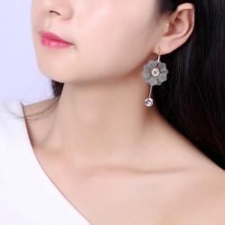 大气夸张花朵超仙耳环时尚气质个性潮百搭耳饰品 1409-154