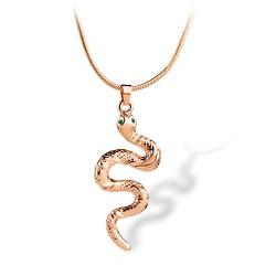 韩版时尚百搭流行蛇形短款项链锁骨链吊坠男女通用 2216-33
